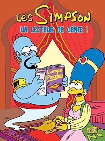 Couverture de l'album Les Simpson (Jungle) - 31. Un lecteur de génie !