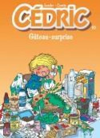 Couverture de l'album Cédric - 10. Gâteau-surprise