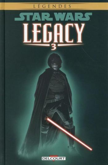 Couverture de l'album Star Wars - Legacy - 3. Les griffes du dragon