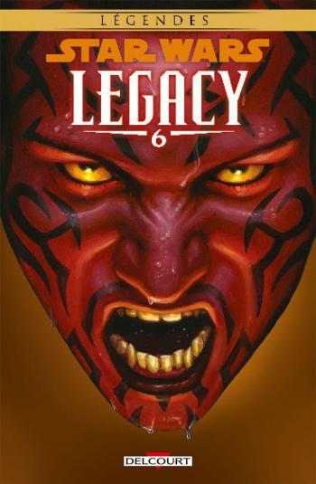 Couverture de l'album Star Wars - Legacy - 6. Rénégat