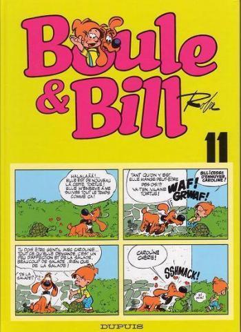 Couverture de l'album Boule & Bill (Édition spéciale 40 ans) - 11. Boule & Bill Tome 11