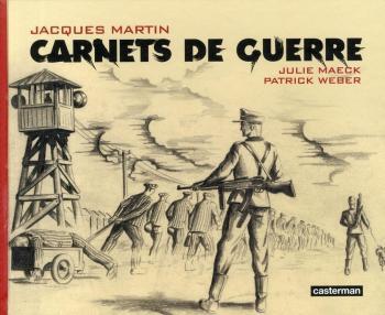 Couverture de l'album Carnets de guerre (One-shot)