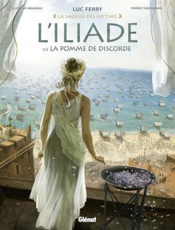 Couverture de l'album L'Iliade - 1. La Pomme de discorde