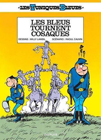 Couverture de l'album Les Tuniques bleues - 12. Les Bleus tournent cosaques