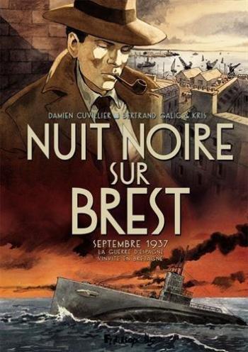 Couverture de l'album Nuit noire sur Brest (One-shot)