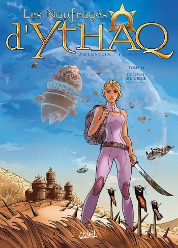 Couverture de l'album Les Naufragés d'Ythaq - 14. Le Joyau du génie