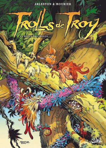 Couverture de l'album Trolls de Troy - 22. À l'école des Trolls