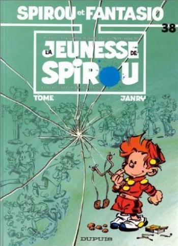 Couverture de l'album Spirou et Fantasio - 38. La jeunesse de Spirou