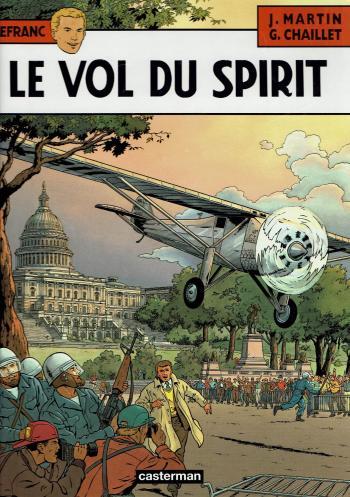 Couverture de l'album Lefranc - 13. Le vol du Spirit