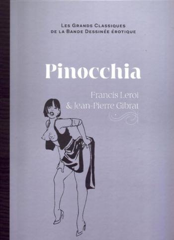 Couverture de l'album Les Grands Classiques de la bande dessinée érotique (Collection Hachette) - 24. Pinocchia