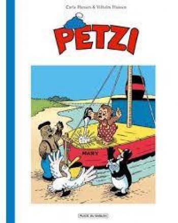 Couverture de l'album Petzi (Deuxième série) - 1. Petzi construit son Bateau