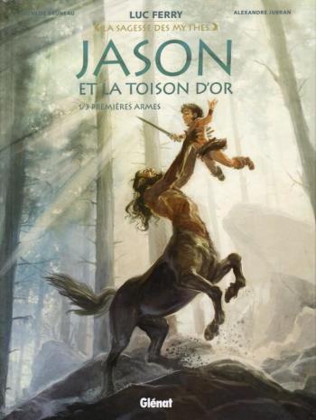 Couverture de l'album Jason et la Toison d'or - 1. Premières Armes