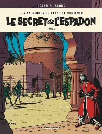 Couverture de l'album Blake et Mortimer (Blake et Mortimer) - 2. Le Secret de l'Espadon II