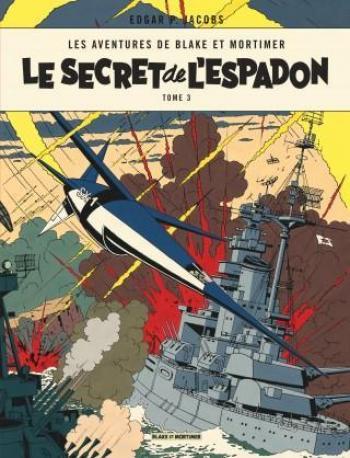 Couverture de l'album Blake et Mortimer (Blake et Mortimer) - 3. Le Secret de l'Espadon III