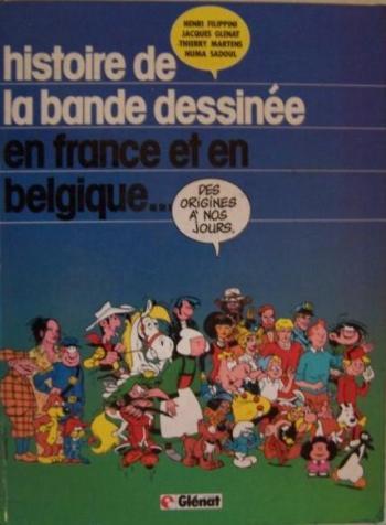 Couverture de l'album Histoire de la bande dessinée en France et en belgique (One-shot)