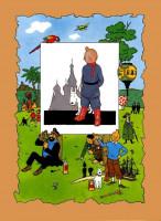Extrait 3 de l'album Tintin (Pastiches, parodies et pirates) - HS. Les Aventures de Tintin au pays des soviets