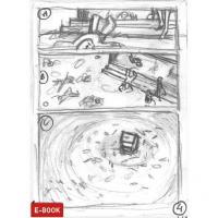 Extrait 3 de l'album La Pluie des corps - HS. Le Scenario complet et le storyboard