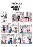 Extrait 1 de l'album Tintin (Pastiches, parodies et pirates) - HS. Le triangle du diamant vert