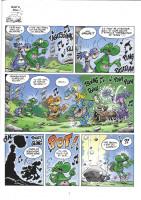 Extrait 1 de l'album Les Nouvelles Aventures Apeupréhistoriques de Nabuchodinosaure - 2. Tome 2