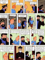 Extrait 1 de l'album Tintin (Pastiches, parodies et pirates) - HS. Tintin à Istanbul