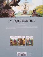 Extrait 3 de l'album Les Grands Personnages de l'Histoire en BD - 30. Jacques Cartier