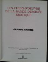 Extrait 1 de l'album Les chefs-d'œuvre de la bande dessinée érotique - 4. Grands Maitres