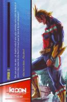 Extrait 3 de l'album My Hero Academia - 0. Two Heroes