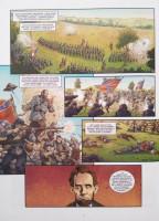 Extrait 2 de l'album Les Grands Personnages de l'Histoire en BD - 34. Lincoln