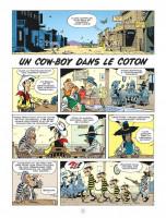 Extrait 1 de l'album Les Aventures de Lucky Luke d'après Morris - 9. Un Cow-Boy dans le Coton