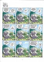 Extrait 1 de l'album Les Nouvelles Aventures Apeupréhistoriques de Nabuchodinosaure - 4. Tome 4