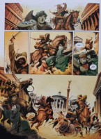 Extrait 2 de l'album Les Grands Personnages de l'Histoire en BD - 50. Léon le Grand défie Attila le Hun