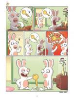 Extrait 2 de l'album The lapins crétins - 13. Toqués !