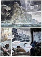 Extrait 1 de l'album Thorgal - 32. La Bataille d'Asgard