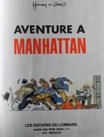 Extrait 1 de l'album Bernard Prince - 4. Aventure à Manhattan