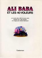 Extrait 1 de l'album Ali Baba et les 40 voleurs (One-shot)