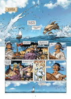Extrait 1 de l'album Lanfeust Odyssey - 7. La Méphitique Armada