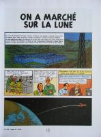 Extrait 1 de l'album Les Aventures de Tintin - 17. On a marché sur la Lune