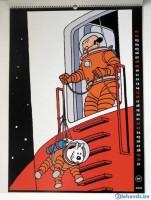 Extrait 2 de l'album Tintin (Divers et HS) - HS. Calendrier 2000 Tintin édition spéciale