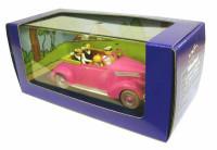 Extrait 2 de l'album Tintin (En voiture) - 69. Le cabriolet des Dupondt du Sceptre d'Ottokar