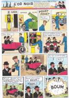 Extrait 1 de l'album Tintin (Pastiches, parodies et pirates) - HS. Tintin au pays de l'or noir