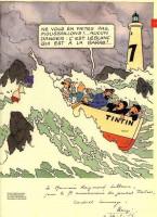 Extrait 2 de l'album Tintin (Divers et HS) - HS. Tintin et la Mer - Ouest France