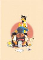 Extrait 3 de l'album Tintin (Pastiches, parodies et pirates) - HS. Le piège Bordure