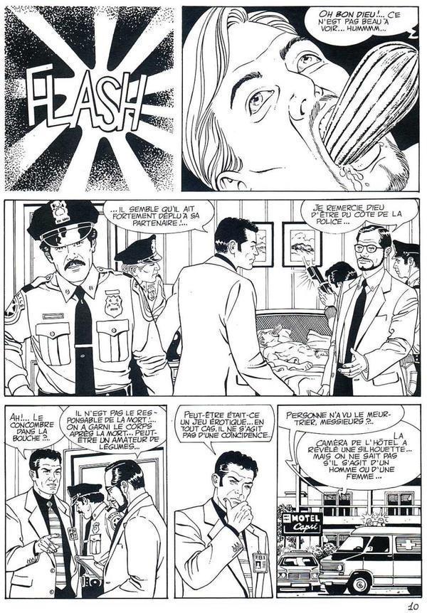 bande dessinée sexe page 1 gros problèmes de Dick