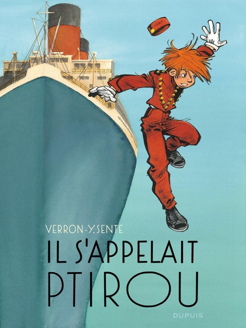 Une aventure de Spirou et Fantasio par Sente & Verron, tome 12 : Il s'appelait Ptirou