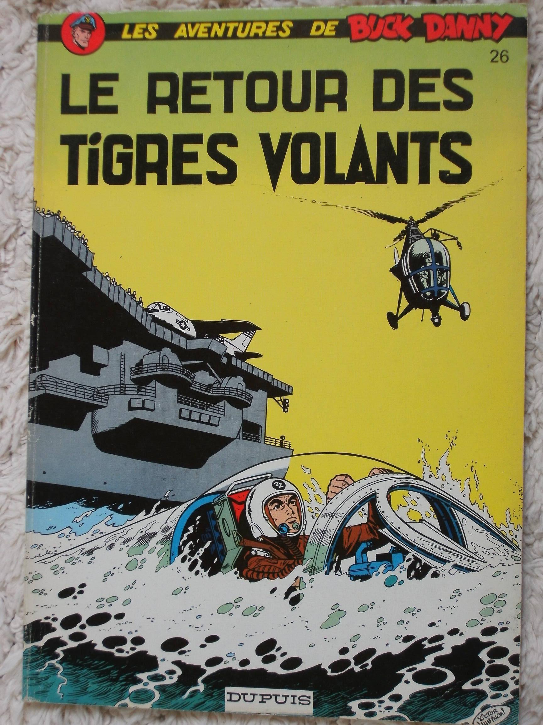 Buck Danny 26 Le Retour Des Tigres Volants Bdphile