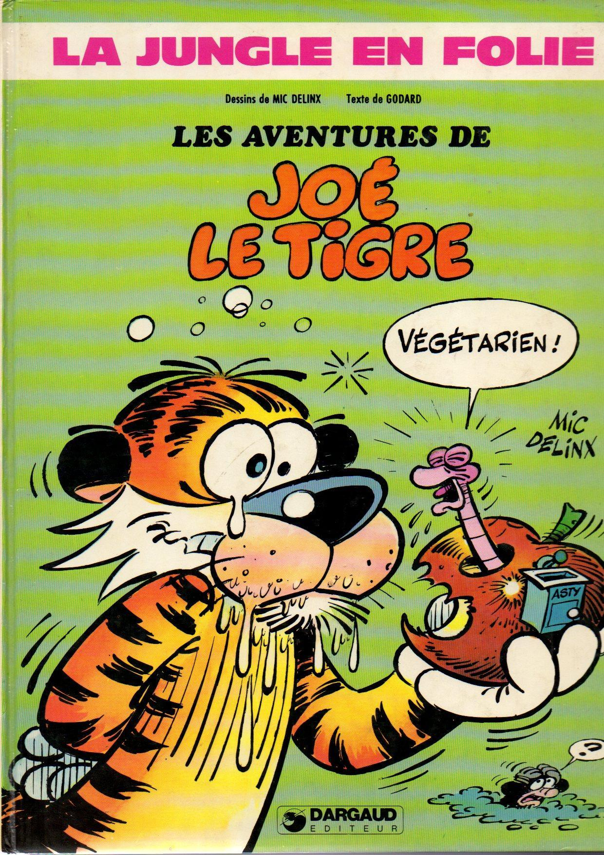La Jungle en folie - 1. Les Aventures de Joé le tigre | Bdphile