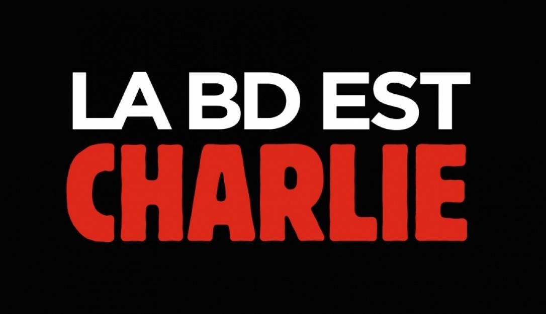 La BD est Charlie : hommage de la profession